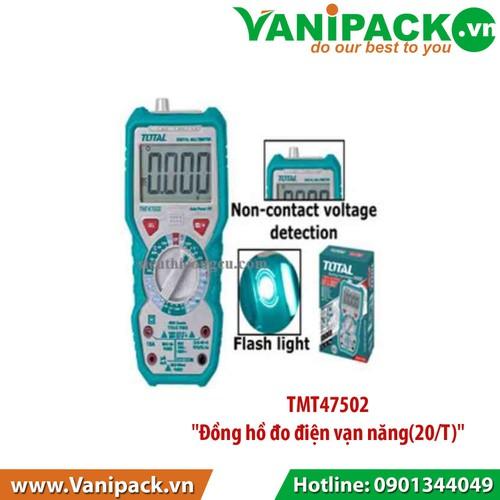 Đồng hồ đo điện vạn năng 20-T Total TMT47502 - 7525385 , 16011366 , 15_16011366 , 765050 , Dong-ho-do-dien-van-nang-20-T-Total-TMT47502-15_16011366 , sendo.vn , Đồng hồ đo điện vạn năng 20-T Total TMT47502