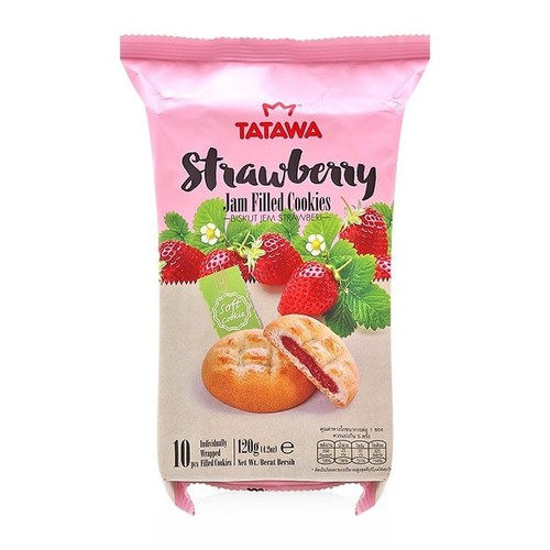 Bánh Gói Strawberry 120gr