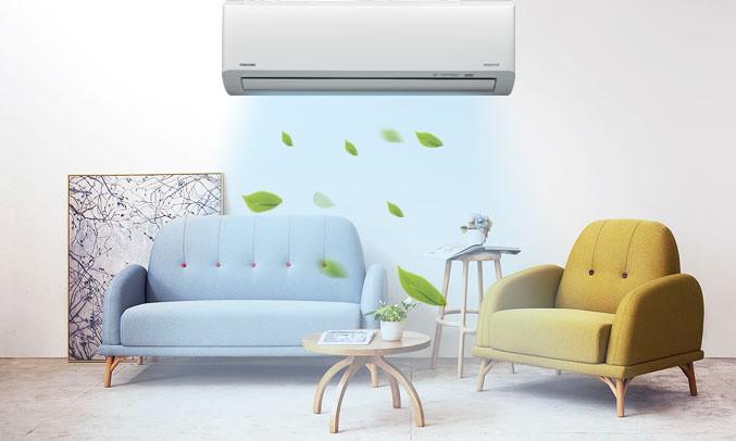 Máy lạnh Toshiba Inverter 1 HP RAS-H10HKCVG-V giá tốt