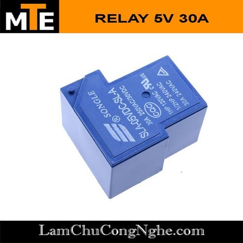 Relay 5v – 30a songle sla -05vdc-sl-a