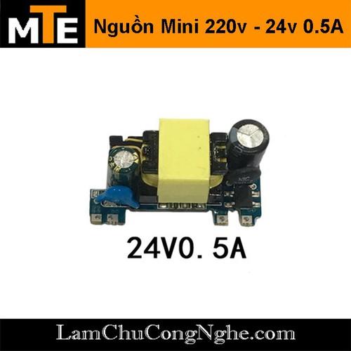 Module nguồn hạ áp mini 220V – 24V 0.5A một hàng chân - 4667015 , 16018741 , 15_16018741 , 50000 , Module-nguon-ha-ap-mini-220V-24V-0.5A-mot-hang-chan-15_16018741 , sendo.vn , Module nguồn hạ áp mini 220V – 24V 0.5A một hàng chân