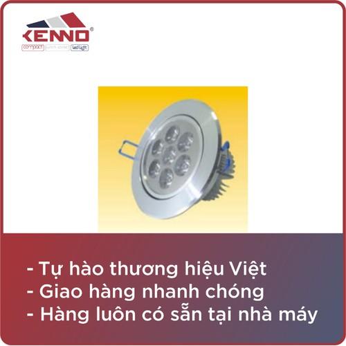 Đèn âm trần AT7.1 Shidun ánh sáng vàng AT7.1-V