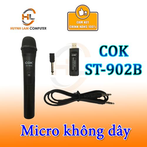 Micro không dây COK St-902B Karaoke âm thanh sống động - 7527263 , 16020576 , 15_16020576 , 125000 , Micro-khong-day-COK-St-902B-Karaoke-am-thanh-song-dong-15_16020576 , sendo.vn , Micro không dây COK St-902B Karaoke âm thanh sống động