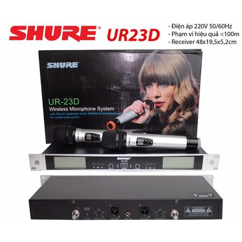 Micro không dây SHUR E UR23D