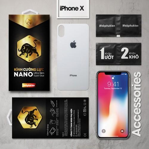 Kính cường lực iPhone-X mặt sau Full Webphukien trắng - 7527249 , 16020560 , 15_16020560 , 120000 , Kinh-cuong-luc-iPhone-X-mat-sau-Full-Webphukien-trang-15_16020560 , sendo.vn , Kính cường lực iPhone-X mặt sau Full Webphukien trắng