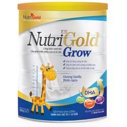 sữa bột nhập khẩu nutrigold grow 900g sữa tăng chiều cao sữa tăng cân