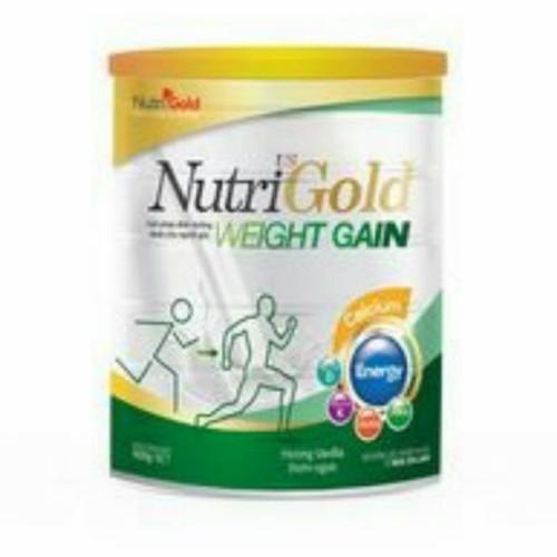 sữa bột nhập khẩu Nutrigold WeightGain 900g sữa cho người gầy tăng cân
