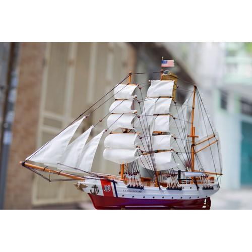 Mô hình thuyền buồm Mỹ chất liệu gỗ hàng loại đẹp