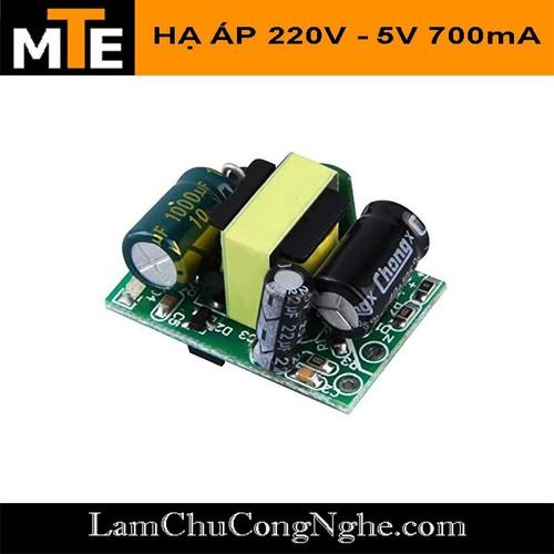 Mạch nguồn mini 220V - 5v 700mA - Module nguồn hạ áp - 10430190 , 16018389 , 15_16018389 , 25000 , Mach-nguon-mini-220V-5v-700mA-Module-nguon-ha-ap-15_16018389 , sendo.vn , Mạch nguồn mini 220V - 5v 700mA - Module nguồn hạ áp