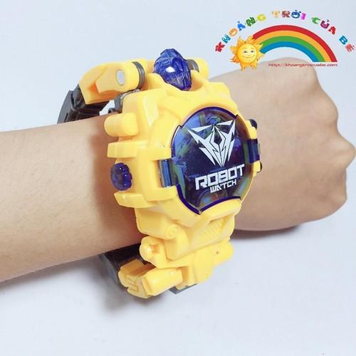 Đồng Hồ Biến Hình Robot - Yellow - 11014098 , 16021986 , 15_16021986 , 188000 , Dong-Ho-Bien-Hinh-Robot-Yellow-15_16021986 , sendo.vn , Đồng Hồ Biến Hình Robot - Yellow