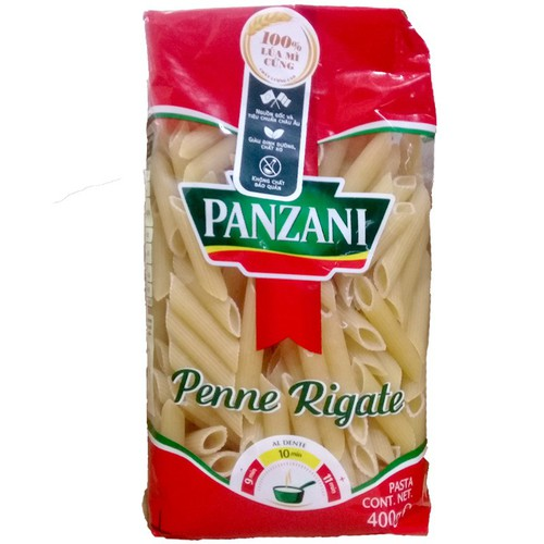 Nui ống Penne Rigate Panzani gói 400g