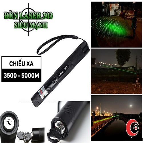 đèn pin lazer 303