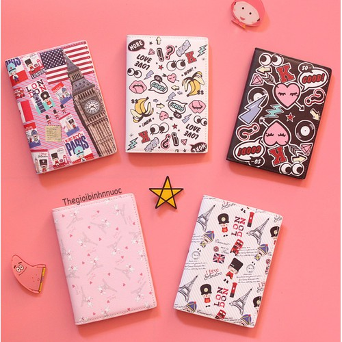 Ví Đựng Hộ Chiếu Passport Cover HOẠT HÌNH Cute - 11219421 , 16028763 , 15_16028763 , 115000 , Vi-Dung-Ho-Chieu-Passport-Cover-HOAT-HINH-Cute-15_16028763 , sendo.vn , Ví Đựng Hộ Chiếu Passport Cover HOẠT HÌNH Cute