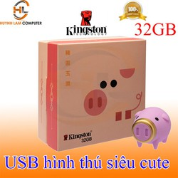 USB 32GB KingSton 3.1 hình thú siêu cute chính hãng FPT- Viết Sơn phân phối