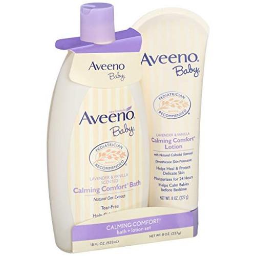 Bộ tắm dưỡng da Aveeno dành cho em bé