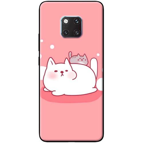 Ốp lưng nhựa dẻo Huawei_Mate_20_Pro Mèo lười