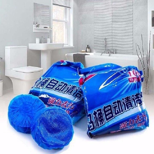 [ 03 bịch 30 cục ] viên tẩy bồn cầu - túi 10 viên thả cầu khử mùi toilet và diệt khuẩn - 20183235 , 16035412 , 15_16035412 , 65000 , -03-bich-30-cuc-vien-tay-bon-cau-tui-10-vien-tha-cau-khu-mui-toilet-va-diet-khuan-15_16035412 , sendo.vn , [ 03 bịch 30 cục ] viên tẩy bồn cầu - túi 10 viên thả cầu khử mùi toilet và diệt khuẩn