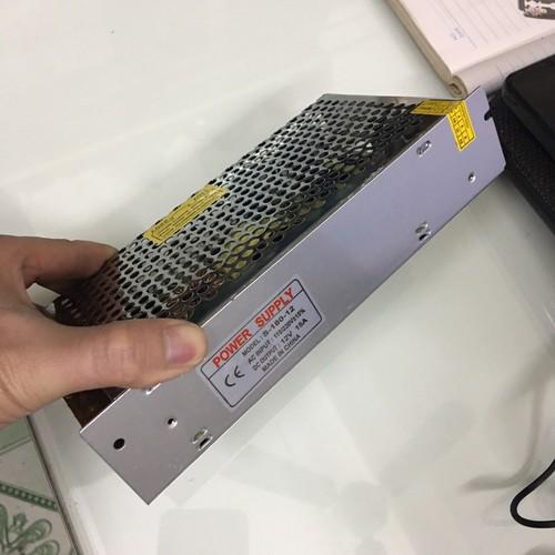 Nguồn tổng 12V -15A cho Camera và biển LED