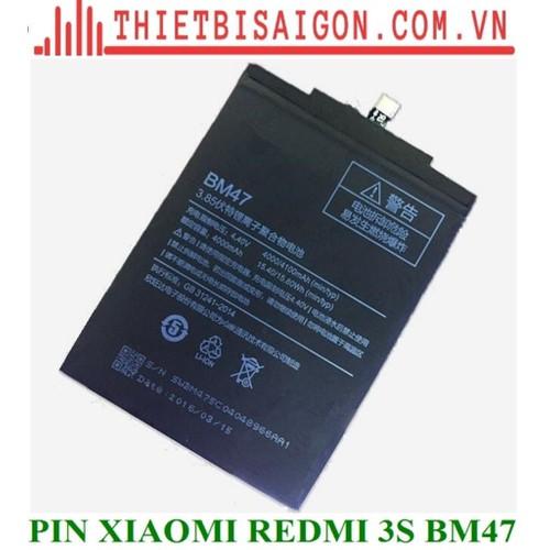 PIN XIAOMI REDMI 3S BM47 - 11166969 , 16034153 , 15_16034153 , 120000 , PIN-XIAOMI-REDMI-3S-BM47-15_16034153 , sendo.vn , PIN XIAOMI REDMI 3S BM47