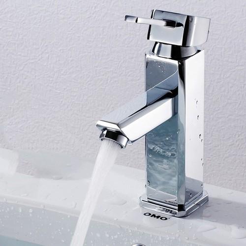 Vòi nước nóng lạnh cho chậu rửa mặt hình vuông bằng đồng mạ Crom - 11220577 , 16031036 , 15_16031036 , 869000 , Voi-nuoc-nong-lanh-cho-chau-rua-mat-hinh-vuong-bang-dong-ma-Crom-15_16031036 , sendo.vn , Vòi nước nóng lạnh cho chậu rửa mặt hình vuông bằng đồng mạ Crom