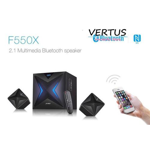 Loa Bluetooth - F550X - 56W - NFC - USB + SD MP3 - FM - Từ xa