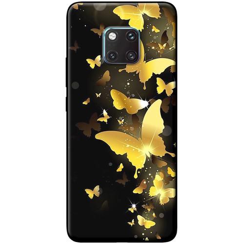 Ốp lưng nhựa dẻo Huawei_Mate_20_Pro Bướm vàng