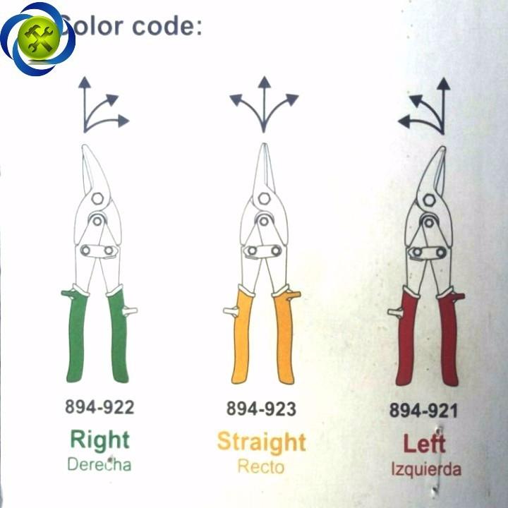 Kéo cắt tôn Gestar 894-921 đỏ trái 3