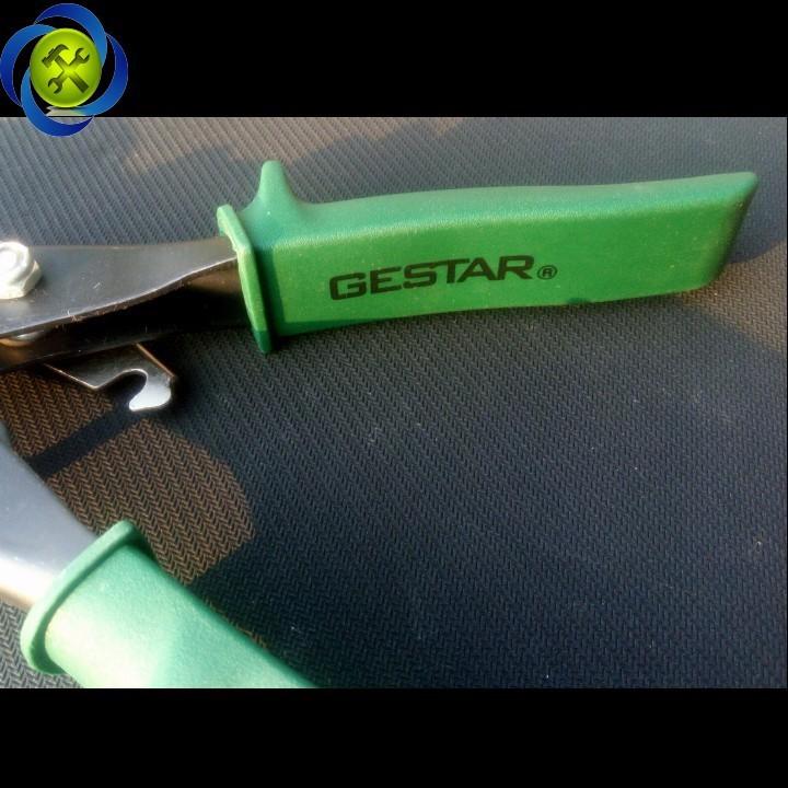 Kéo cắt tôn Gestar 894-922 xanh phải 2