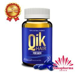 Viên mọc tóc Qik Hair For Men – Giảm rụng tóc, hói đầu