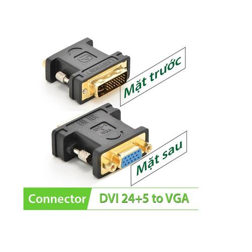 Đầu chuyển DVI-I to VGA