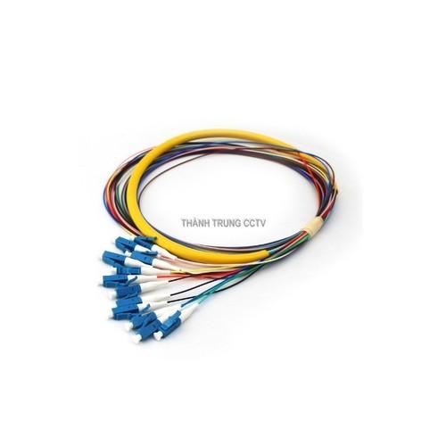 Dây hàn quang pigtail LC-UPC 12 màu
