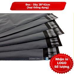 Túi niêm phong dán miệng đóng gói hàng chống bóc size 28*42cm-phổ biến