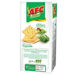 Bánh dinh dưỡng vị rau củ AFC hộp 100g