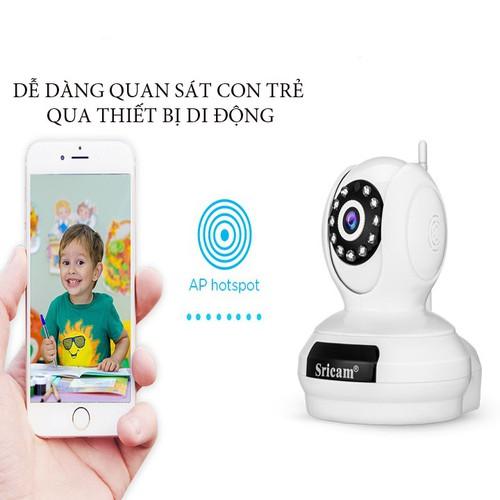 Camera Siricam không dây full HD xoay 360 độ