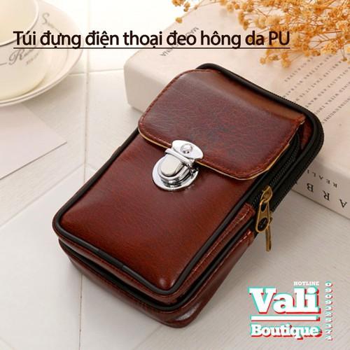 Túi đeo ngang hông da PU dành cho nam dạng dọc - nâu - 7889111 , 16039747 , 15_16039747 , 120000 , Tui-deo-ngang-hong-da-PU-danh-cho-nam-dang-doc-nau-15_16039747 , sendo.vn , Túi đeo ngang hông da PU dành cho nam dạng dọc - nâu