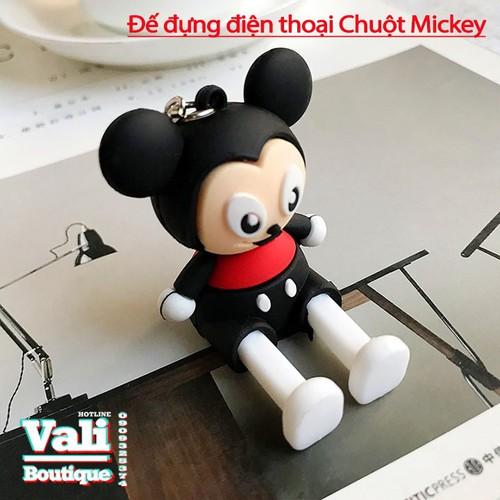Đế đỡ điện thoại hình thú ngộ nghĩnh - Chuột Mickey