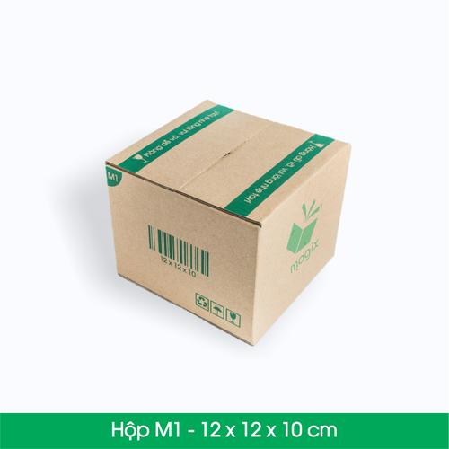 100 THÙNG HỘP CARTON M1 12x12x10 cm