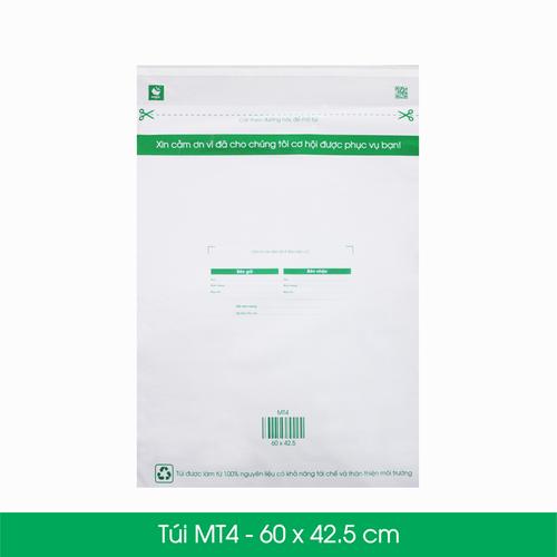 25 TÚI NILON GIAO HÀNG THAY HỘP CARTON - MT4 - 60 X 42.5 CM