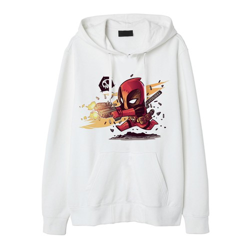 Mẫu Áo Khoác Chui Đầu Deadpool Áo Hoodie Deadpool