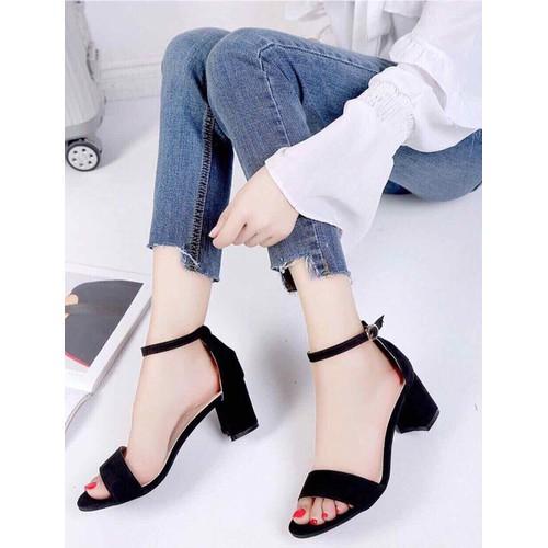 Giày cao gót 7cm giá CỰC RẺ