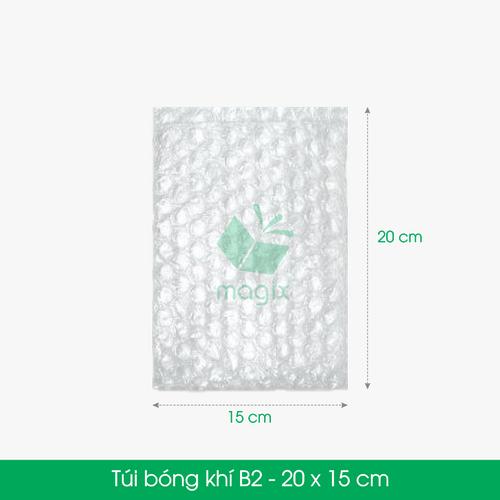 25 TÚI BONG BÓNG KHÍ B2 20x15 cm