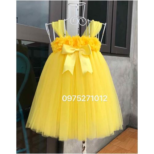 váy vàng 3D cho bé thôi nôi - 1 tuổi