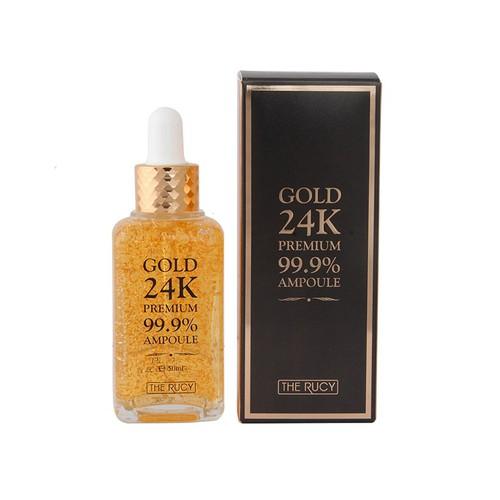[Hàn Quốc] Ampoule dưỡng da tinh chất vàng 24k The Rucy Premium 99 Ampoule 50ml