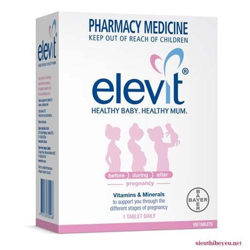 Viên vitamin tổng hợp Elevit 100 viên