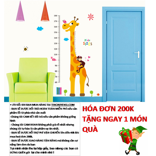 Decal Đo Chiều Cao Kid Sizes - 4617581 , 13860821 , 15_13860821 , 70000 , Decal-Do-Chieu-Cao-Kid-Sizes-15_13860821 , sendo.vn , Decal Đo Chiều Cao Kid Sizes