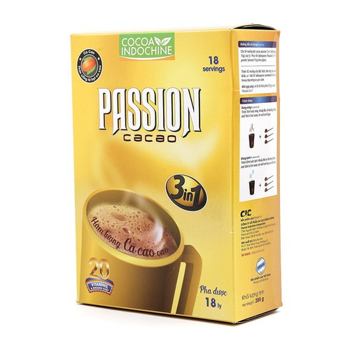 Bột Cacao Sữa Passion 3 in 1 Hộp 285g - 4616991 , 13857213 , 15_13857213 , 65500 , Bot-Cacao-Sua-Passion-3-in-1-Hop-285g-15_13857213 , sendo.vn , Bột Cacao Sữa Passion 3 in 1 Hộp 285g