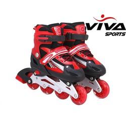 Giày Patin cao Cấp Màu Đỏ+Tặng Mã Giảm Giá LCQ3W695