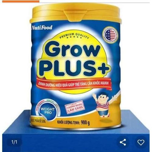 Sữa Grow Plus+ xanh 900g NutiFood