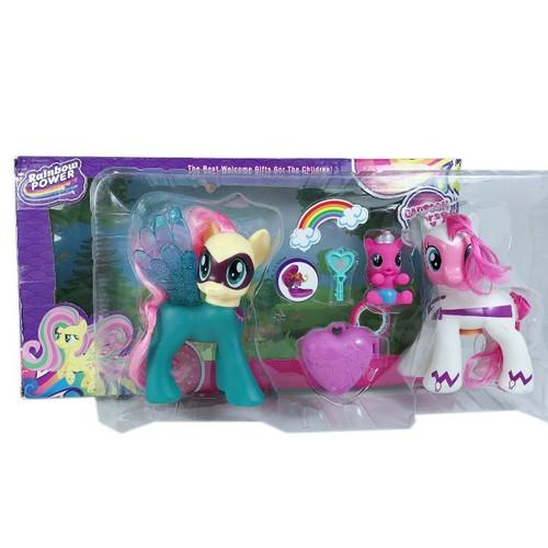 Bộ 3 Nhân Vật Pony Cartoon Horse