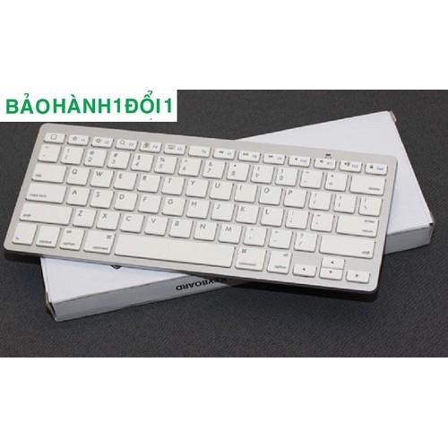 Bàn phím kết nối Bluetooth cho bạn cảm giác đang sài máy tính bảng như sài máy tính bàn tại nhà